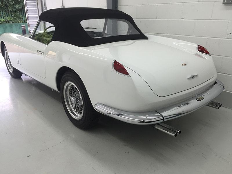 classic convertible ferrari