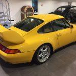 yellow porche carrera RS side